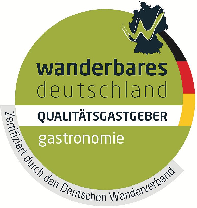 Pictogramm Wanderfreundlich (Gastronomie)