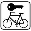 Pictogramm Fahrradverleih